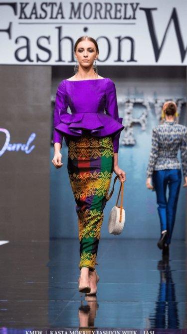 ルーマニアのファッションショーにミンダナオコレクションが登場